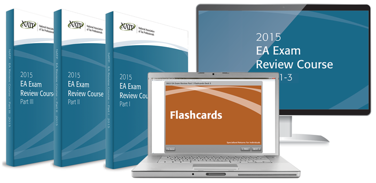NATP Ultimate EA Exam Review Course Bundle Electronic Flashcards and Electronic Books (2015) - #4529E