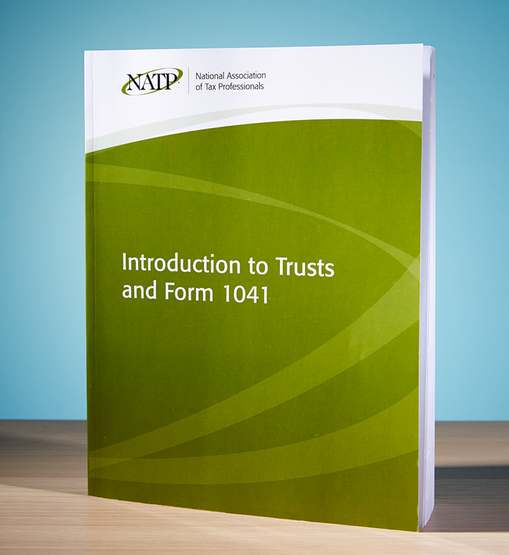Introduction to Trusts and Form 1041 Textbook (2016) - #4618