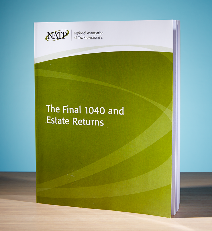 The Final 1040 and Estate Returns Textbook (2016) - #4619