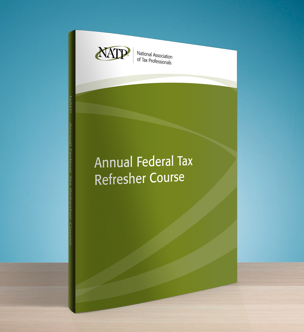 Annual Federal Tax Refresher Course Textbook (2016) - #4640