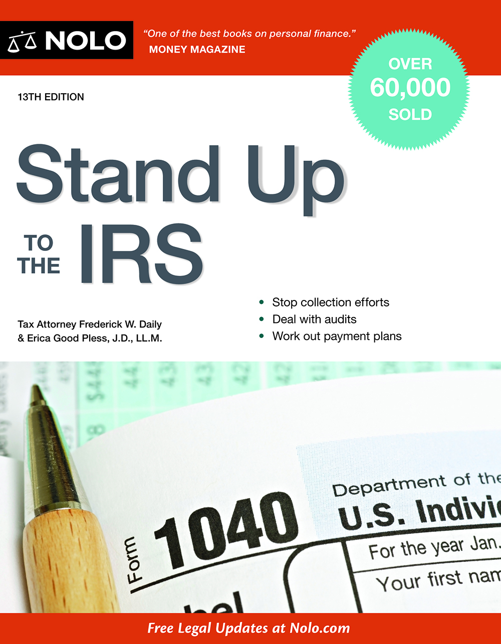 Stand Up to the IRS (13th edition) - #4745