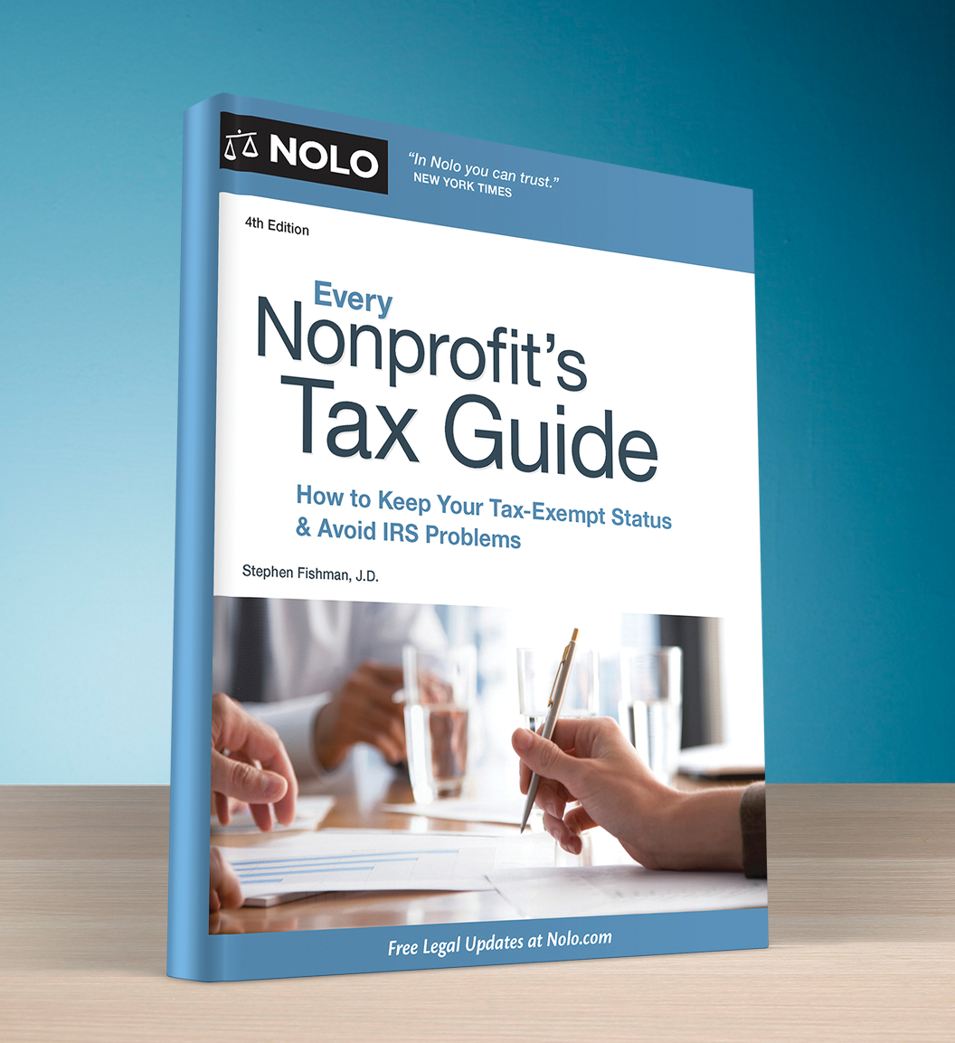 Every Nonprofit's Tax Guide (4th edition) - #4747