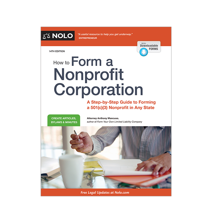 How to Form a Nonprofit Corporation (14th edition) - #4748