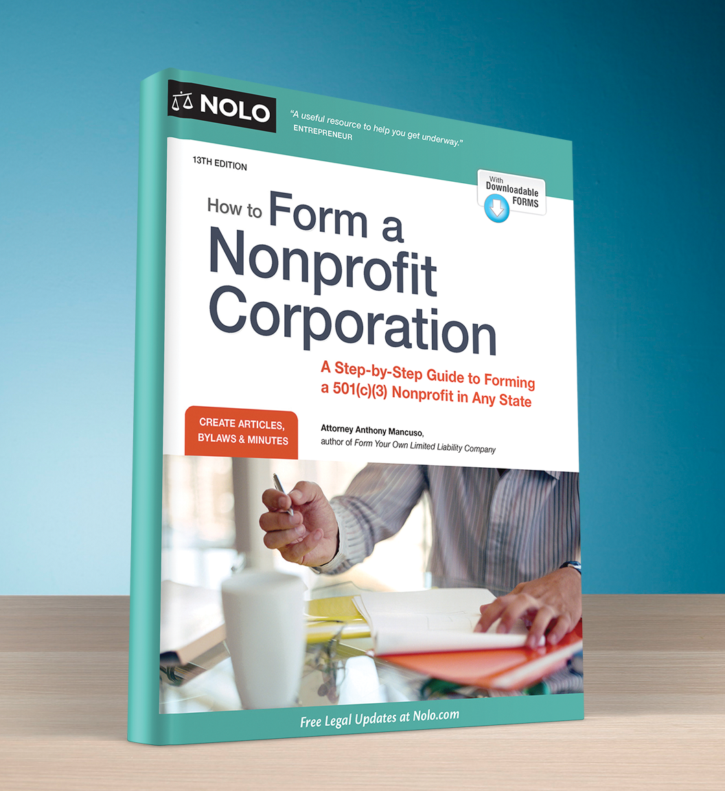 How to Form a Nonprofit Corporation (13th edition) - #4748