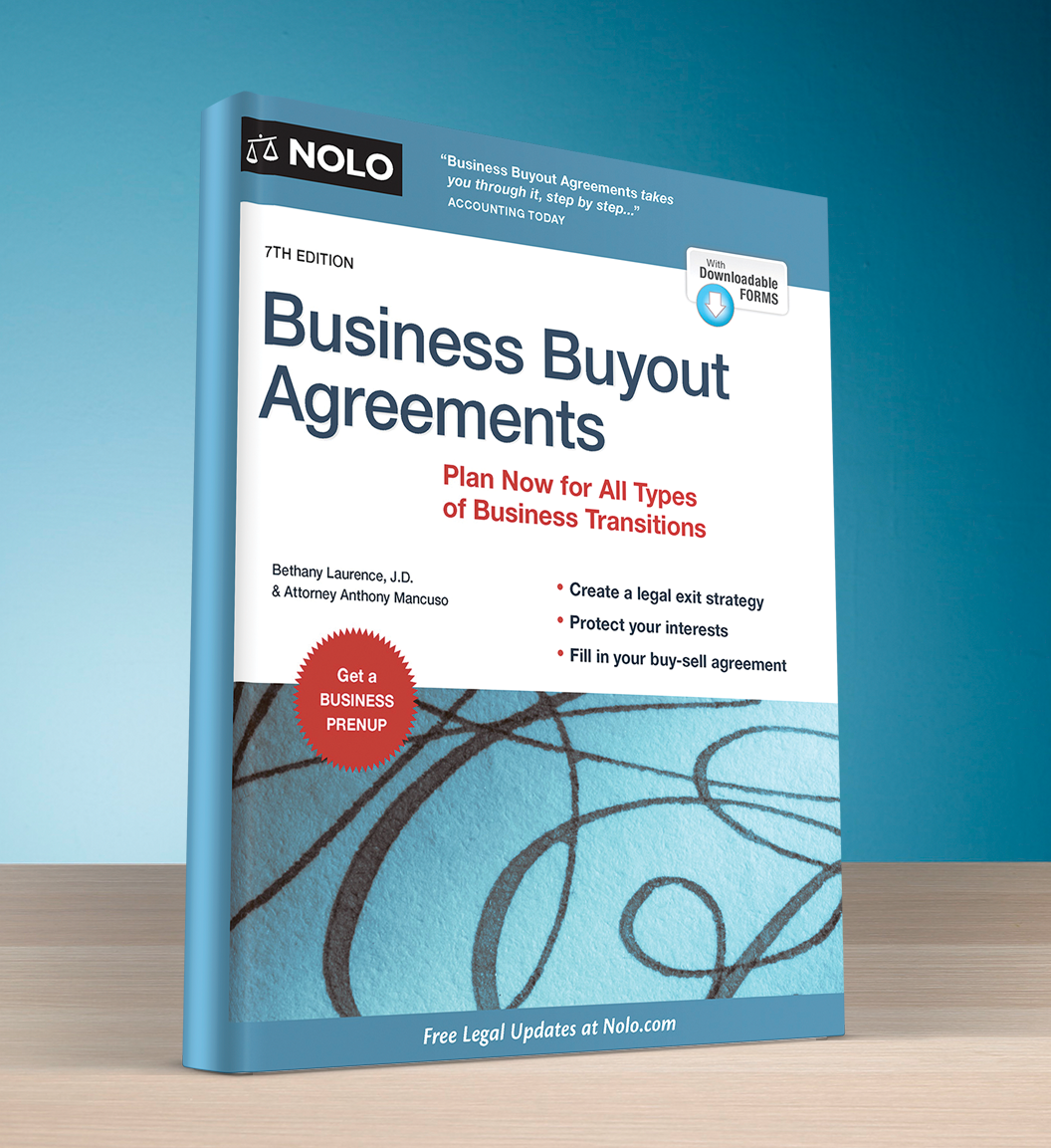 Business Buyout Agreement (8th edition) - #4749