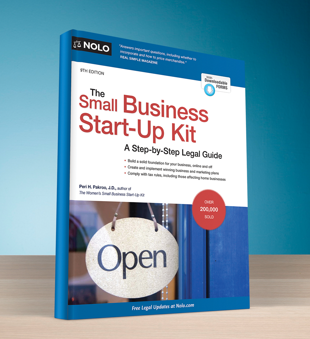 The Small Business Start Up Kit (9th edition) - #4752