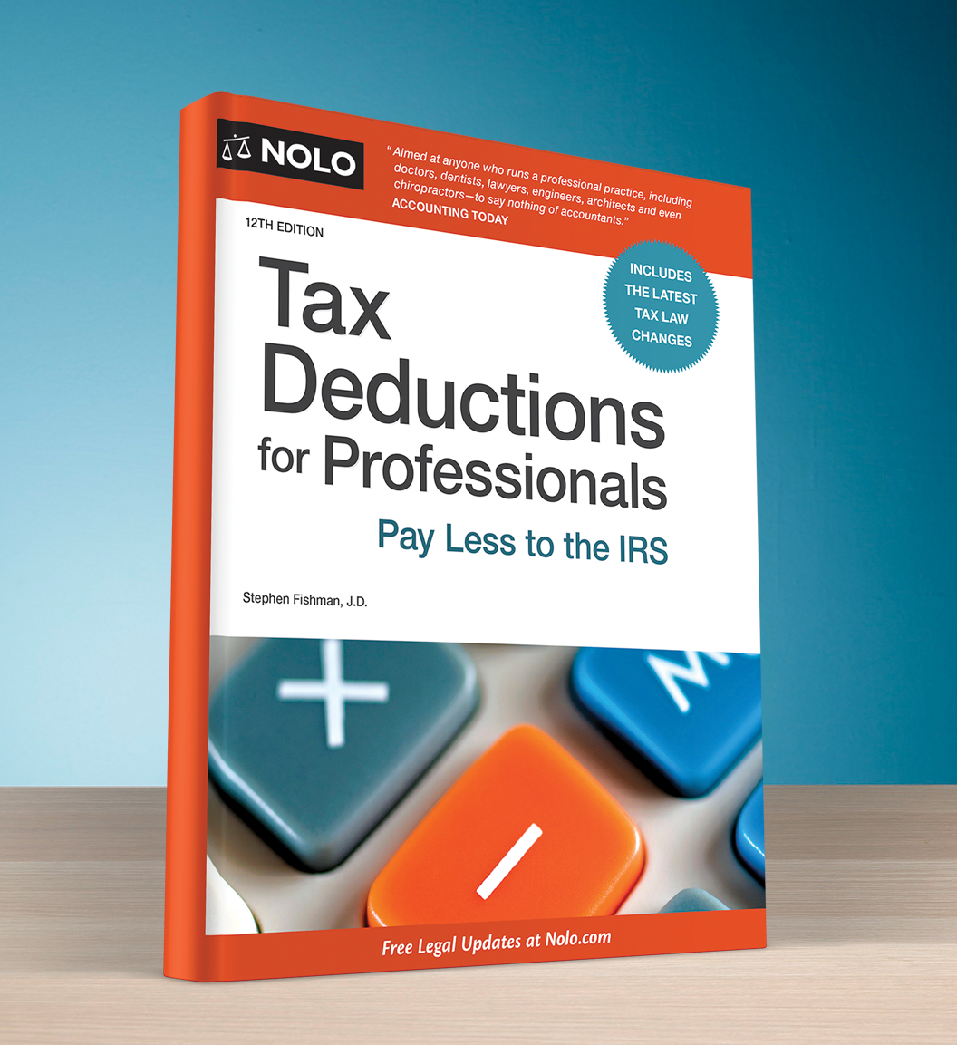Tax Deductions for Professionals (12th edition) - #4753