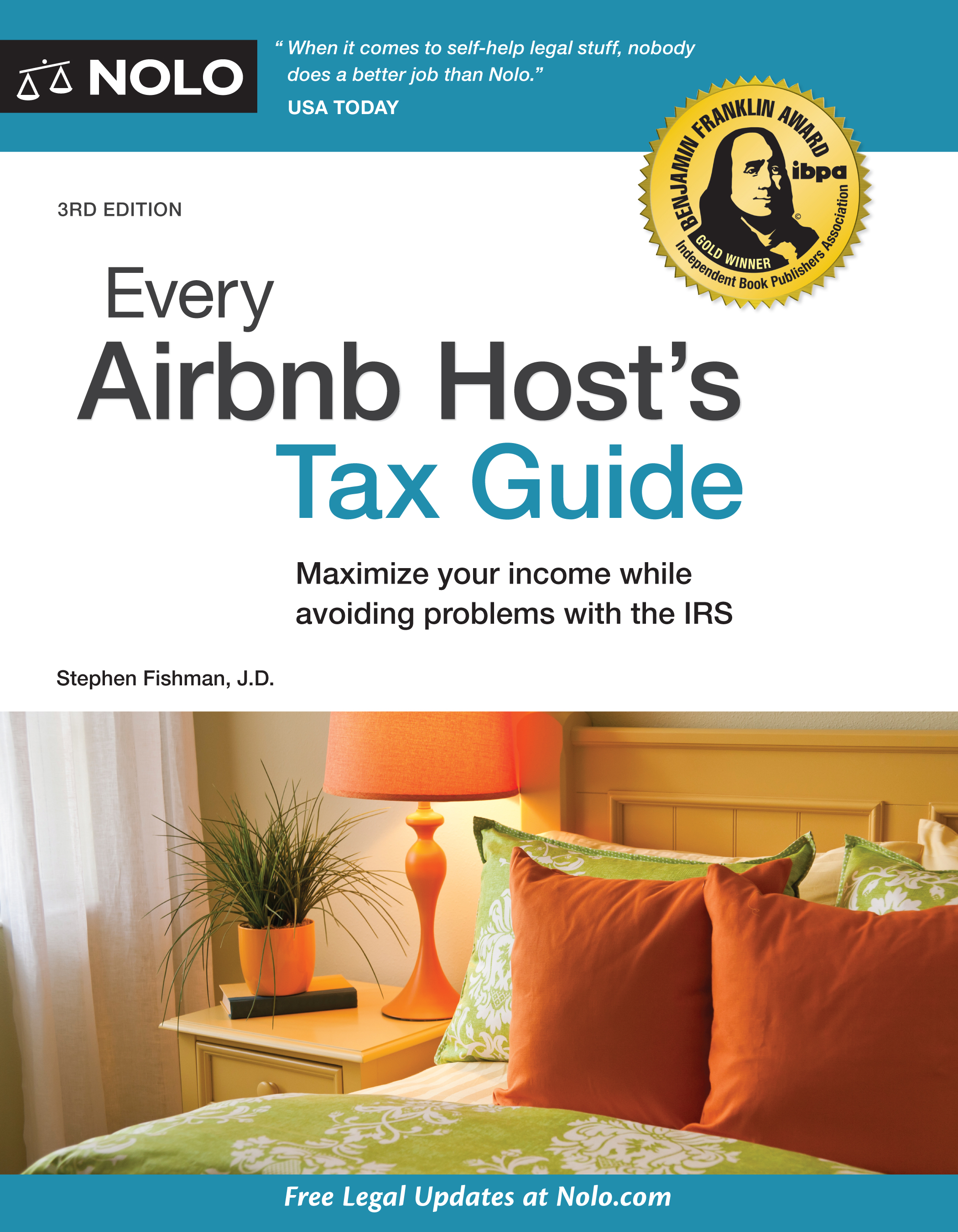 Every Airbnb Host's Tax Guide (3rd edition) - #4755