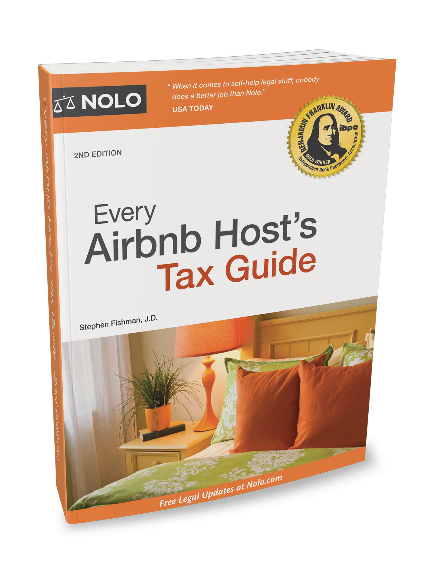 Every Airbnb Host's Tax Guide (2nd edition) - #4755
