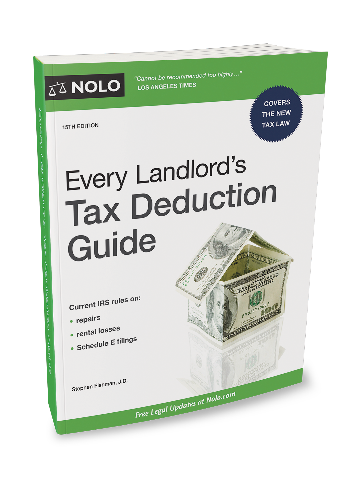 Every Landlord's Tax Deduction Guide (15th Edition) - #4759