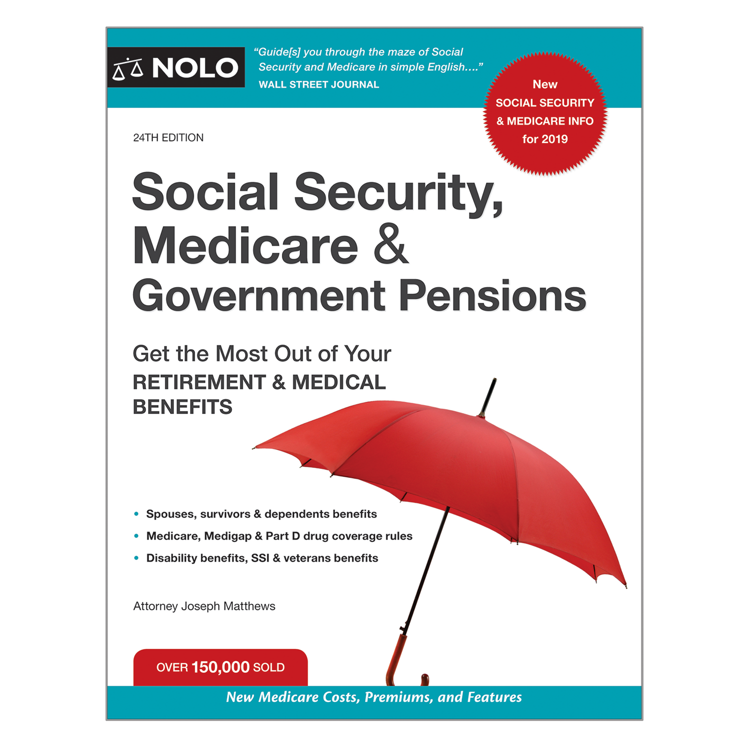 Social Security, Medicare & Government Pensions (24th Edition) - #4760