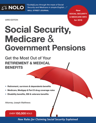 Social Security, Medicare & Government Pensions (23rd Edition) - #4760