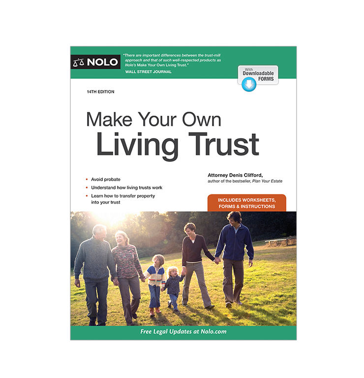 Make Your Own Living Trust (14th Edition) - #4770
