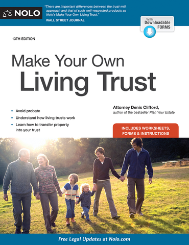 Making Your Own Living Trust (13th Edition) - #4770