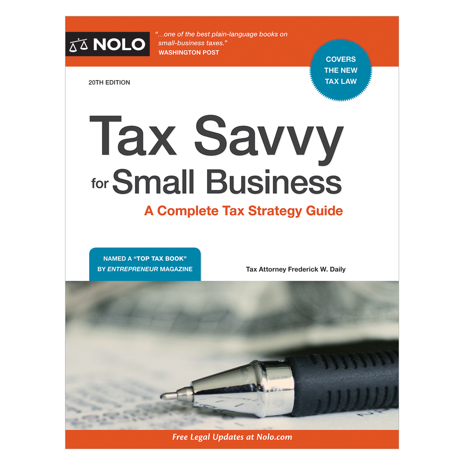 Tax Savvy for Small Business (20th Edition) - #4777