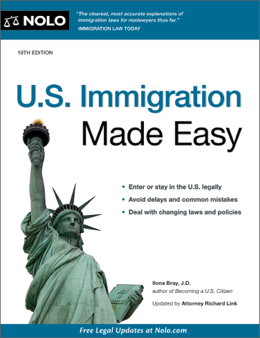 U.S. Immigration Made Easy (19th edition) - #4780