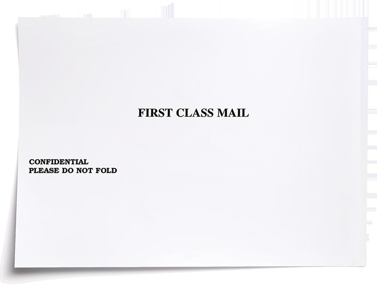 """9.5"""" x 12.65"""" Client Mailing Envelope - #500B"""