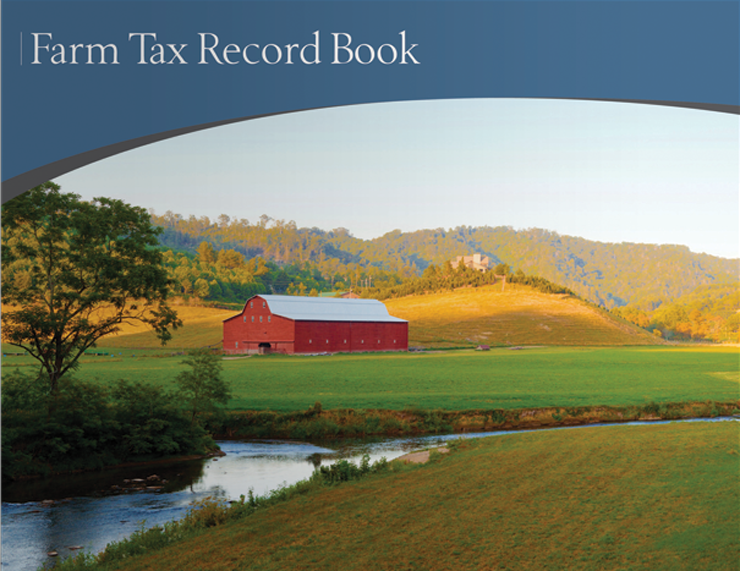 Farm Tax Record Book (Blue) - #610
