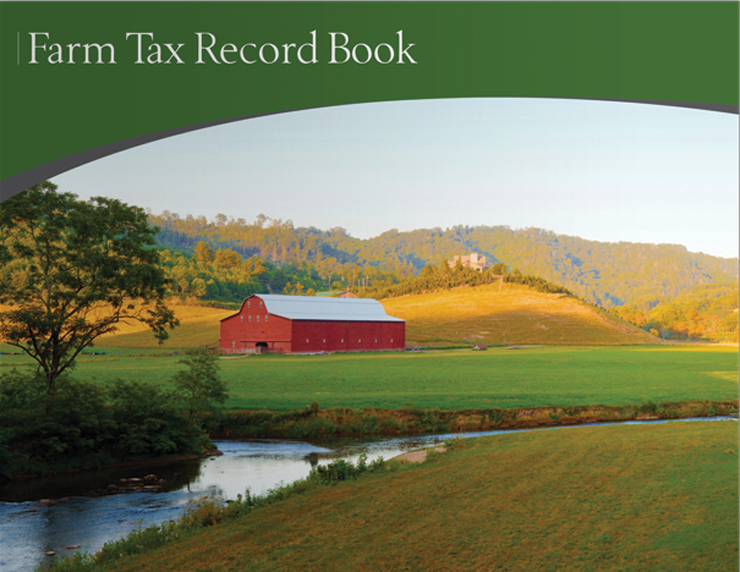 Farm Tax Record Book (Green) - #610A