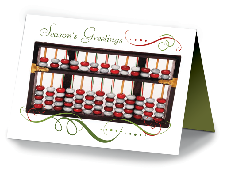Holiday Cards - Abacus - #672C