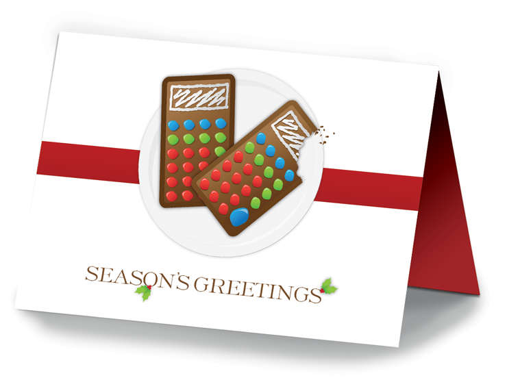 Holiday Cards - Cookies - #673