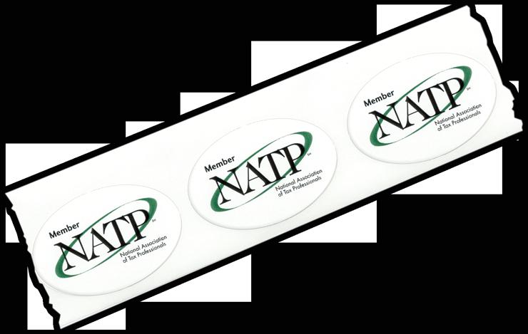 NATP Member Stickers - #701
