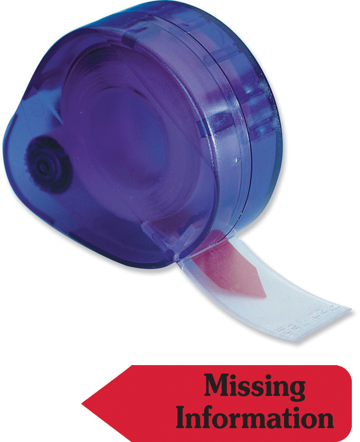 Missing Information - Red Flag - #727