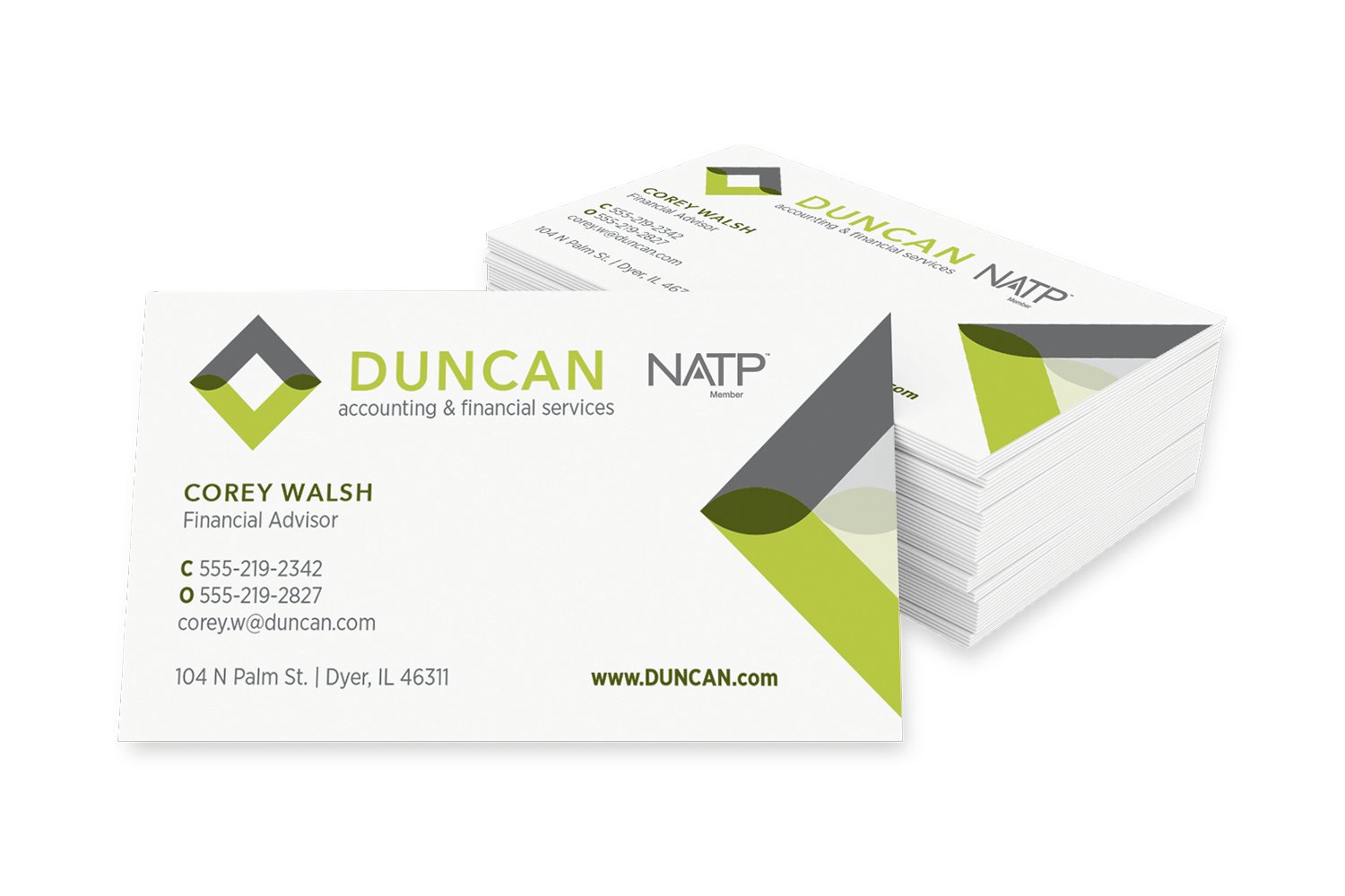 Business Cards – 1-sided - #731