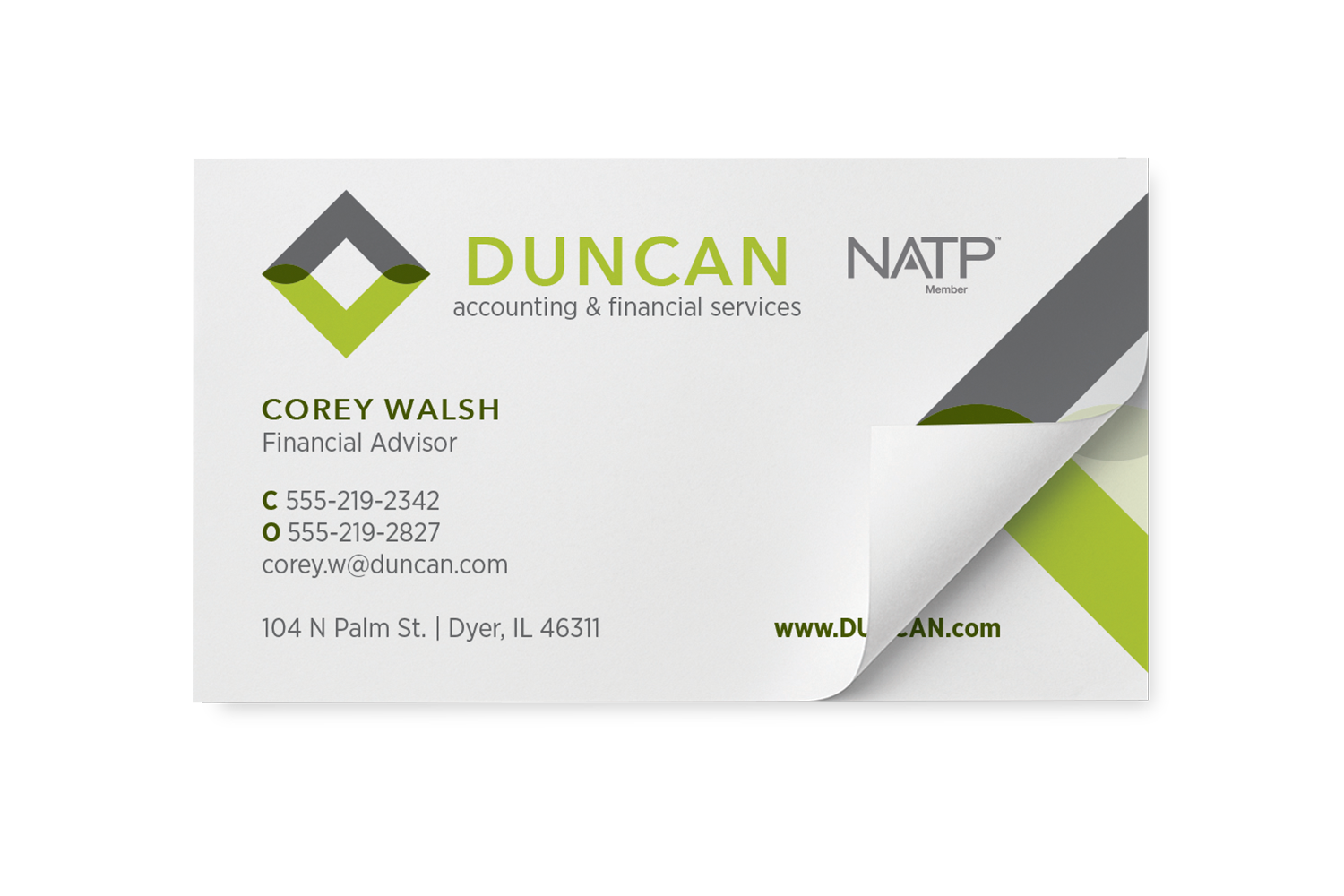 Business Card Post-it Notes - #732