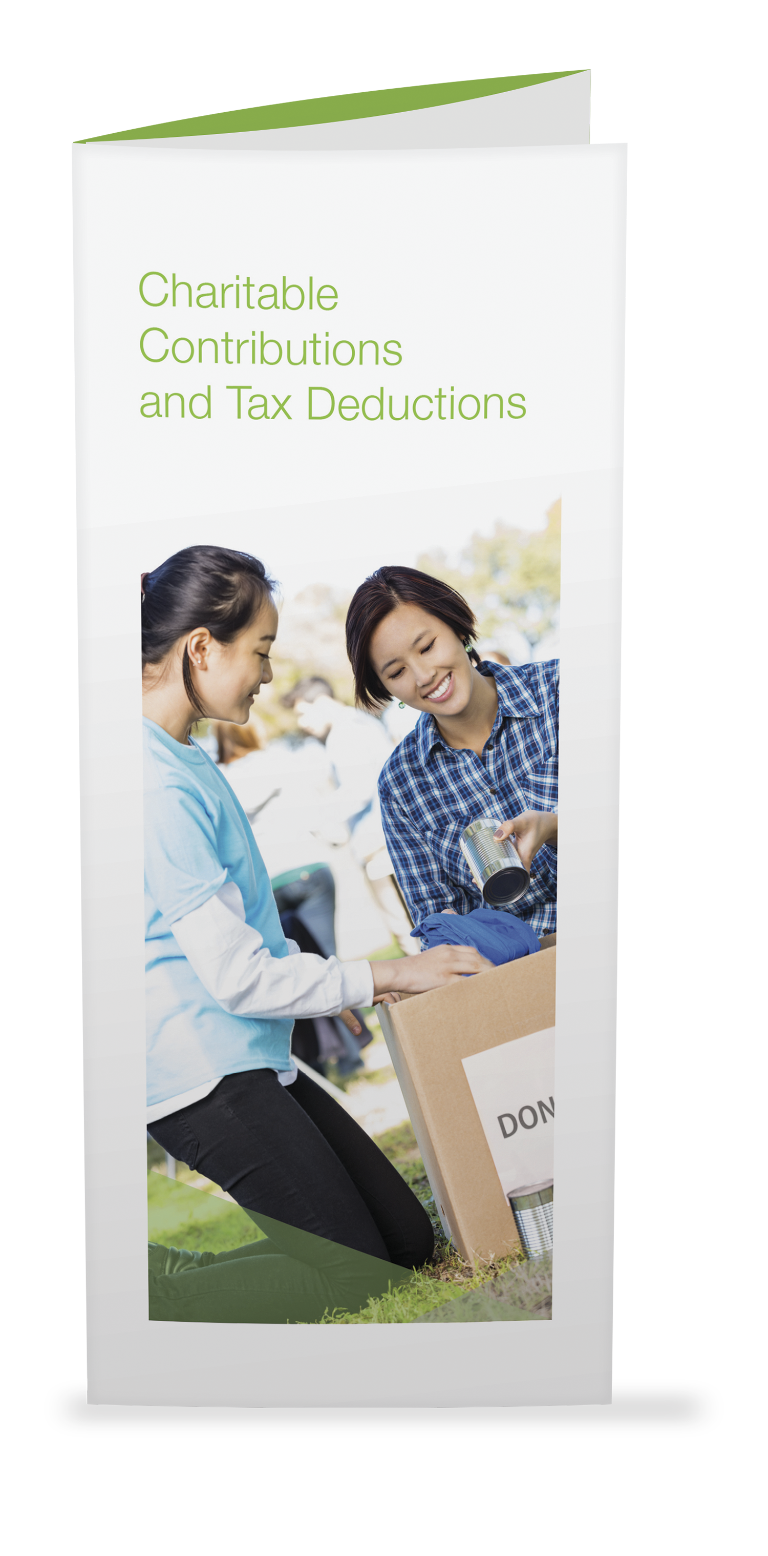 Charitable Contributions and Tax Deductions  Brochures - 25/Pkg - #807