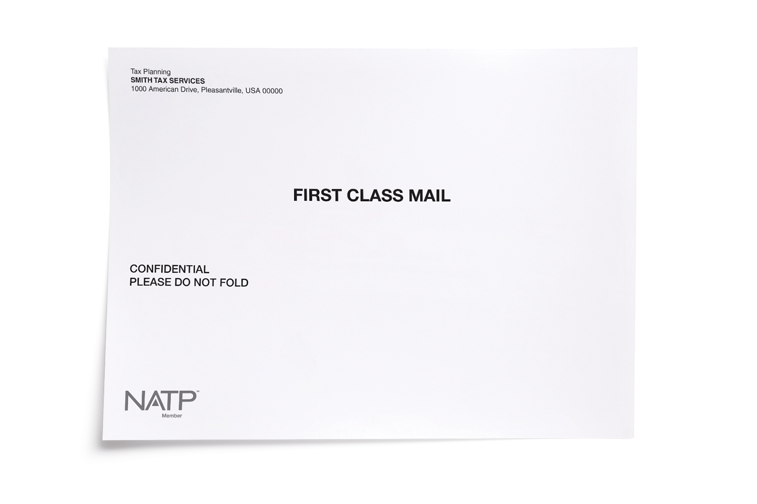 Mailing Envelope - Personalized - #81177