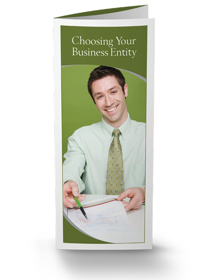 Choosing Your Business Entity Brochures - 25/Pkg - #857