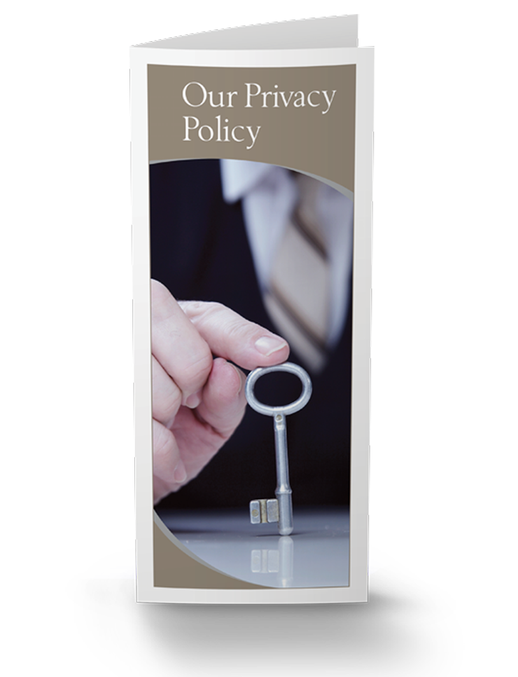 Our Privacy Policy (nondisclosure) Brochure - 25/Pkg - #859