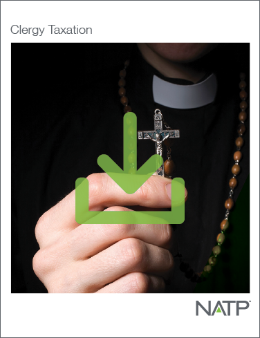 Clergy Taxation E-book (2021) - PDF Version - #E21307
