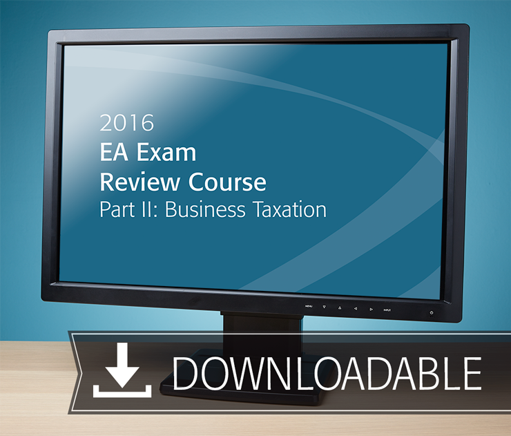 EA Exam Review Course Part II Textbook (2016) - Electronic PDF Version - #E3604