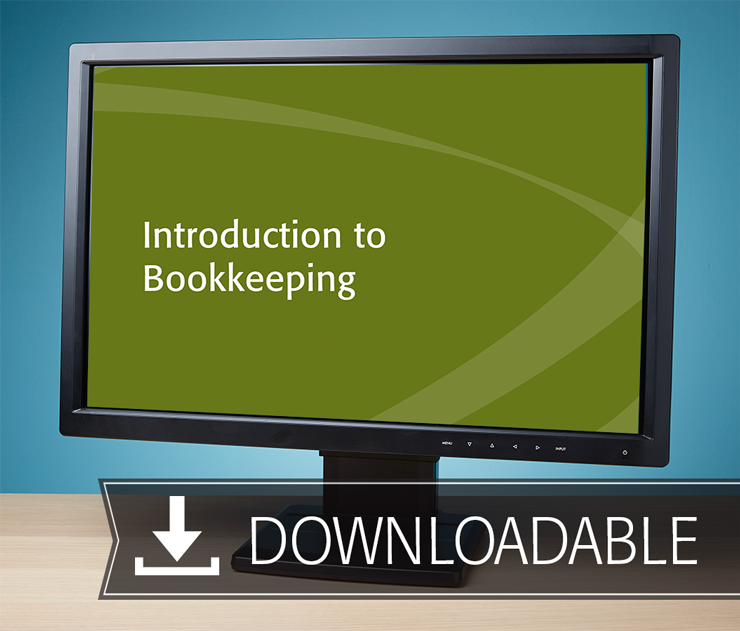 Introduction to Bookkeeping Textbook (2016) – Electronic PDF Version - #E3660