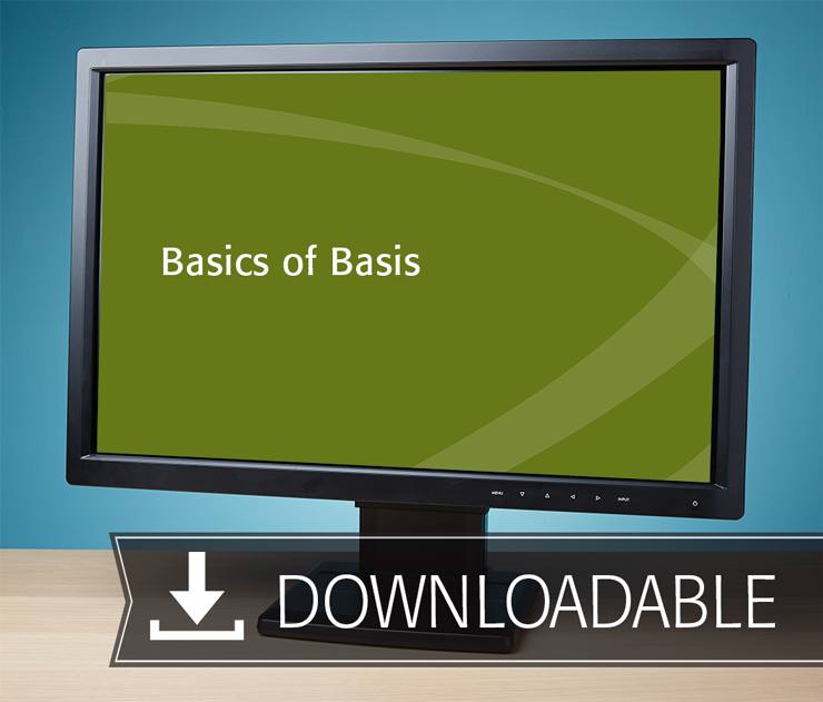 Basics of Basis Textbook (2016) – Electronic PDF Version - #E3666
