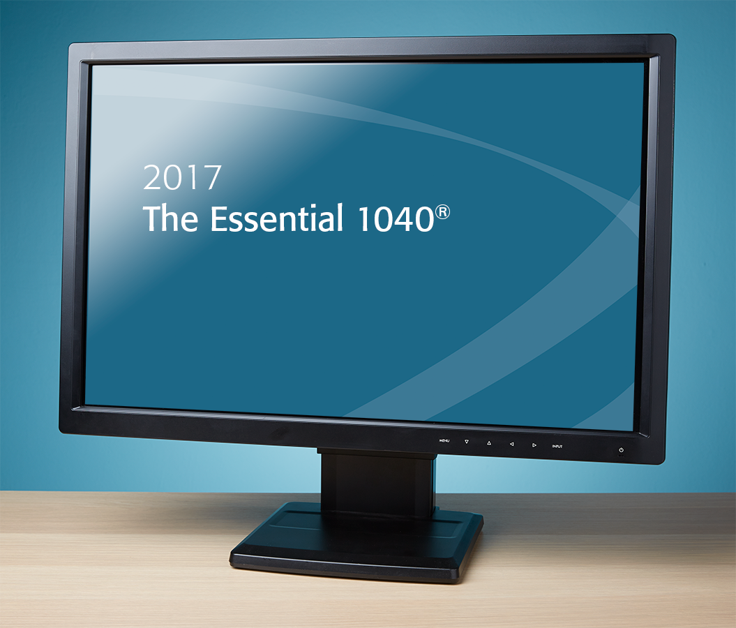 The Essential 1040 Textbook (2017) – Electronic PDF Version - #E3701