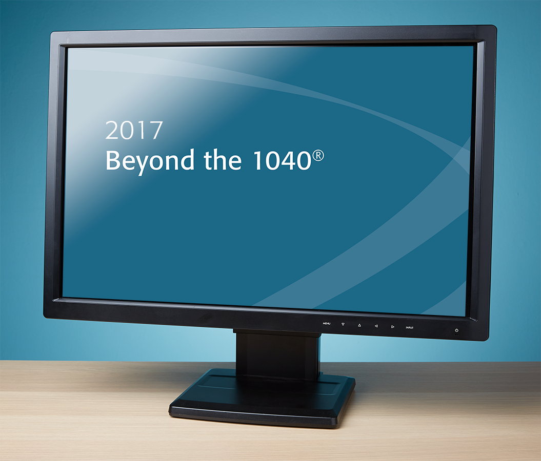 Beyond the 1040 Textbook (2017) – Electronic PDF Version - #E3702