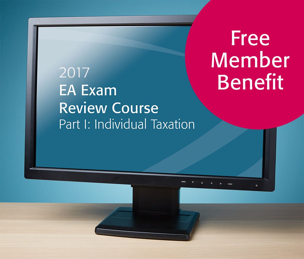EA Exam Review Course Part I Textbook (2017) - Electronic PDF Version - Free With EA Member Benefit - #E3703