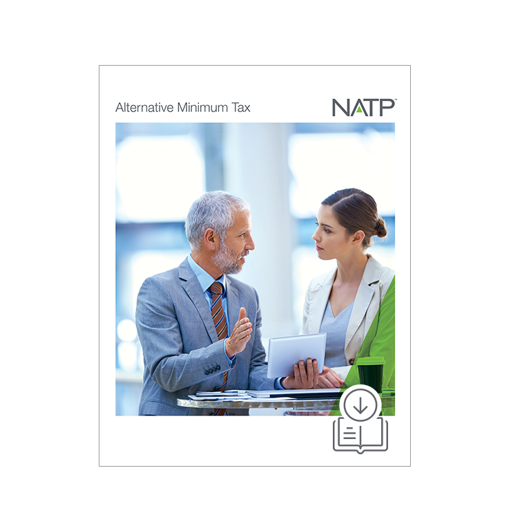 Alternative Minimum Tax (AMT) E-book (2019) – PDF Version - #E3913