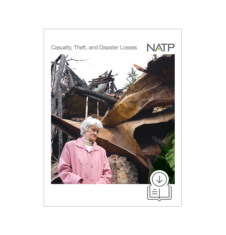 Casualty, Theft and Disaster Losses E-book (2019) – PDF Version - #E4915