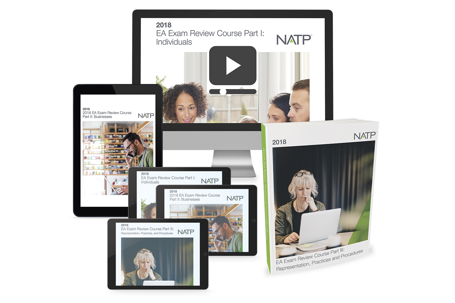 NATP Ultimate EA Exam Review Course Bundle (2018) - #FBER4829