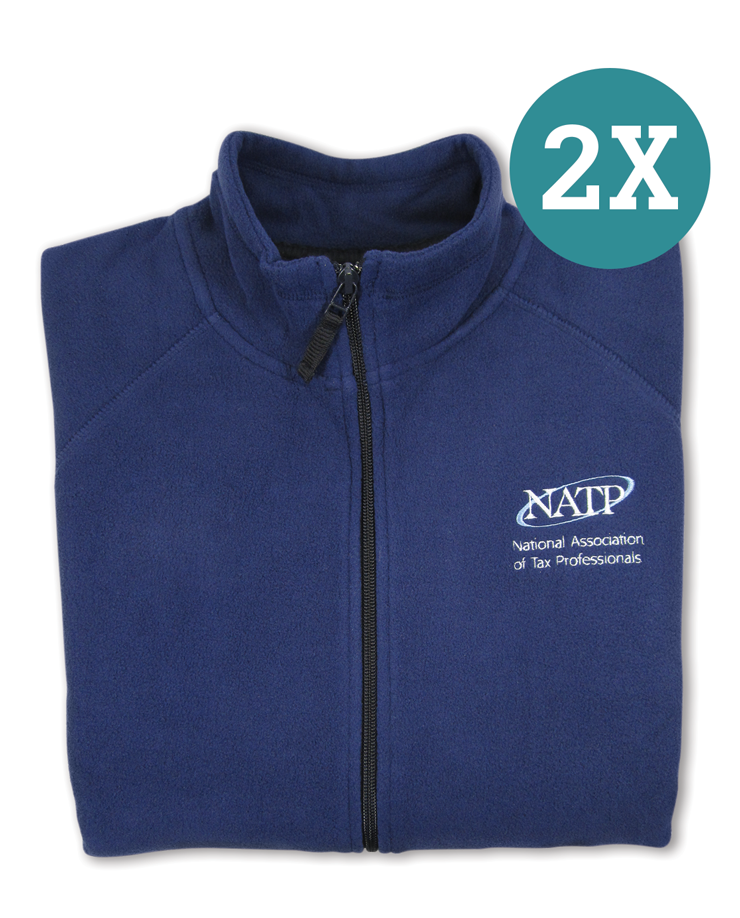 NATP Navy Fleece - XXLarge - #N038XXL