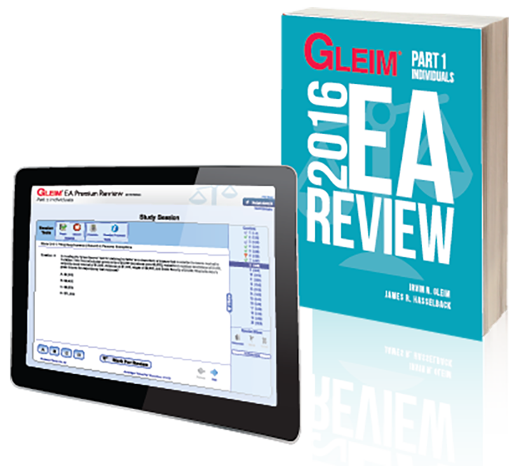 Gleim EA Review Book & Test Prep Online – Part 1 (2016) - #OAB3661S