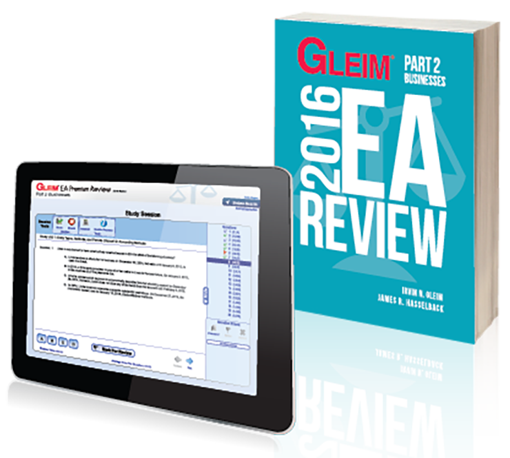 Gleim EA Review Book & Test Prep Online – Part 2 (2016) - #OAB3662S