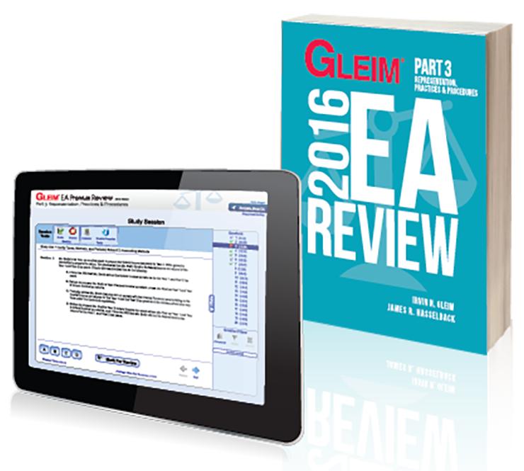 Gleim EA Review Book & Test Prep Online – Part 3 (2016) - #OAB3663S