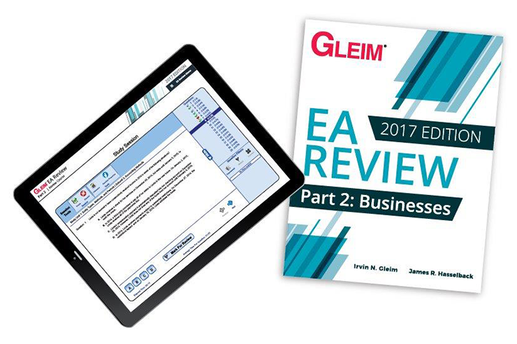 Gleim EA Review Book & Test Prep Online – Part 2 (2017) - #OAB3762S