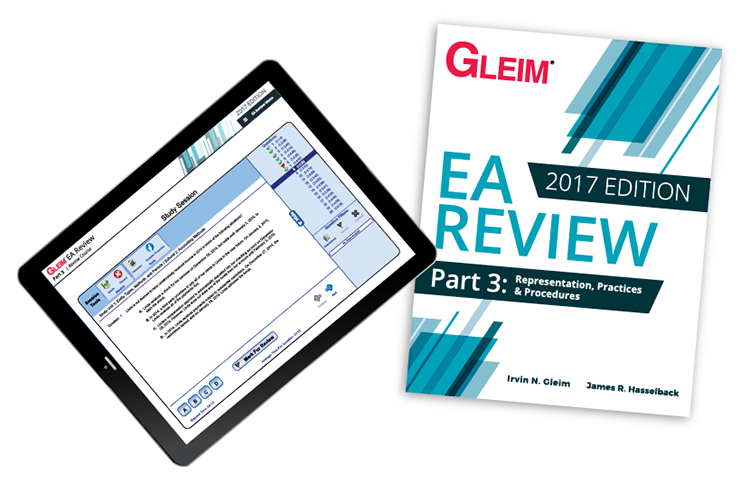 Gleim EA Review Book & Test Prep Online – Part 3 (2017) - #OAB3763S