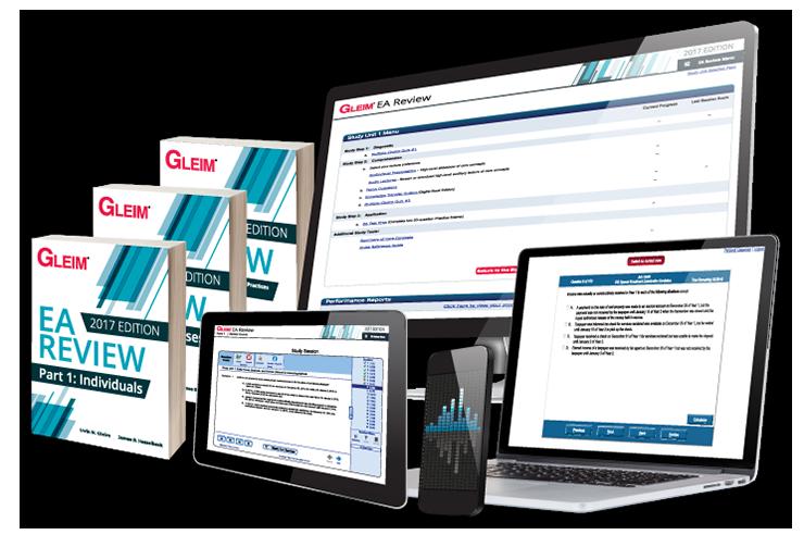 Gleim Premium EA Review System (2017) - #OAB3766S